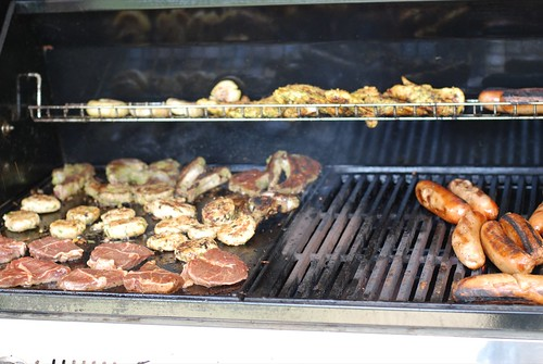 herd on the grill