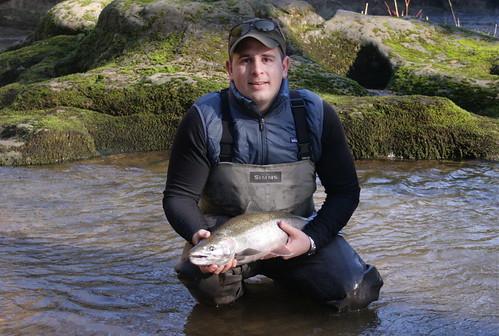 Oregon winter steelhead fishing