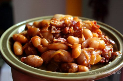 Barbecue Baked Beans with Bacon Ready to Eat