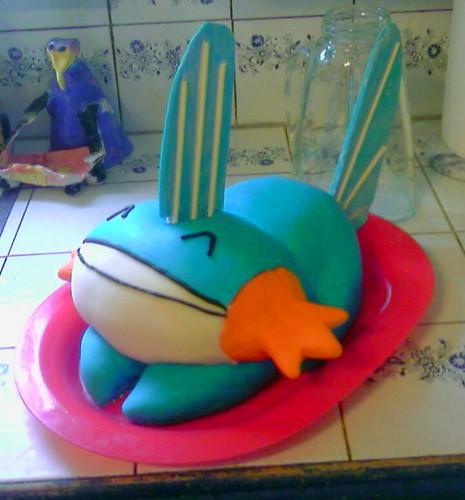 ¡Mudkip! Uno de los Pokémon más adorables hecho de azúcar y nata
