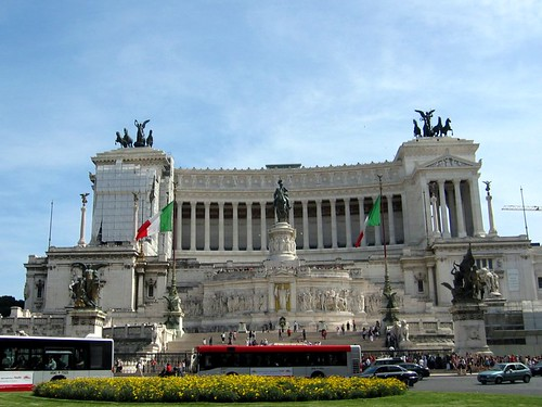 The Vittoriano.