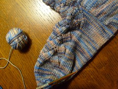 Koigu Monkey Socks