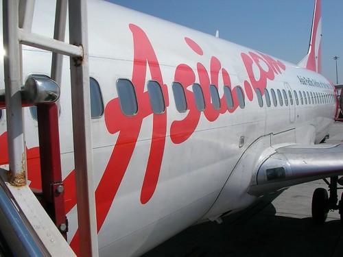 Air Asia, Bangkok to Surat Thani エアアジア