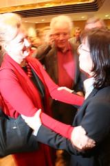 Dagmar Metzger und Andrea Ypsilanti bringen Gü...