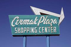 Cermak Plaza Sign
