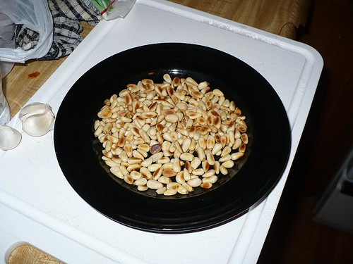Over Zealously Toasted Pine Nuts