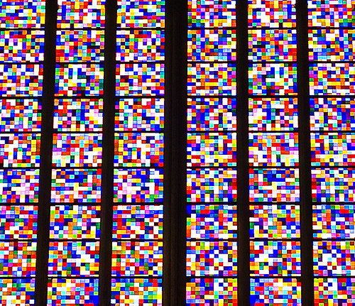 Domfenster Zoom by Gerhart Richter at the Köln Dom