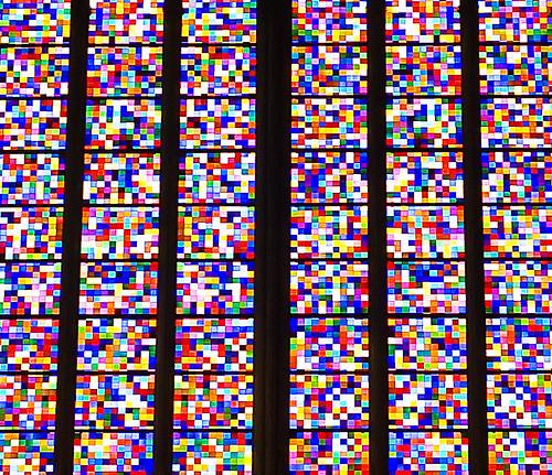 Domfenster Zoom by Gerhart Richter at the Köln Dom