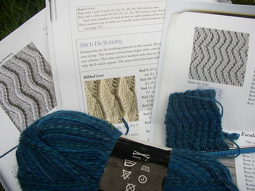 water sock pattern possibilities