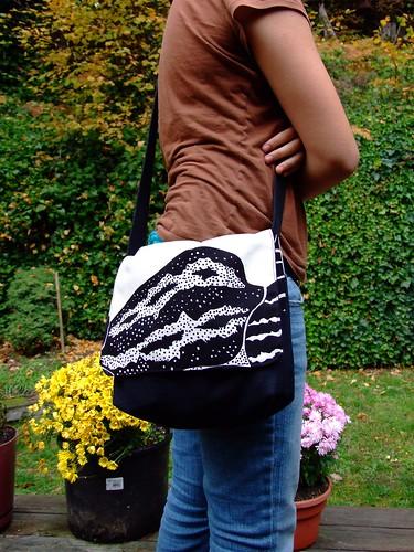 """Norma"" messenger bag"