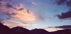 Couché du soleil sur Kibber