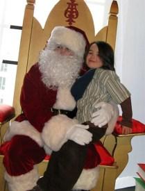 Xavier and Santa