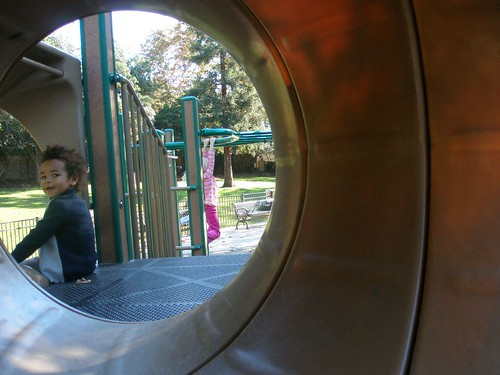 Alton on the slide