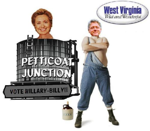 West Virginia White Folks Say Howdy to Hillary