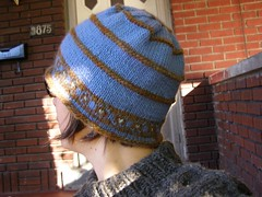 blue belle hat