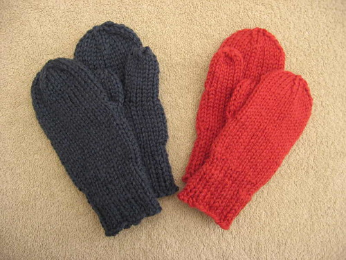 Soaring Eagles Project mittens