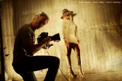 Markus Klinko and Mary J. Blige (#31463)