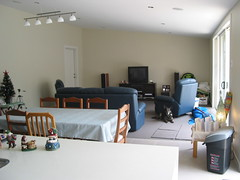 Living area from kitchen