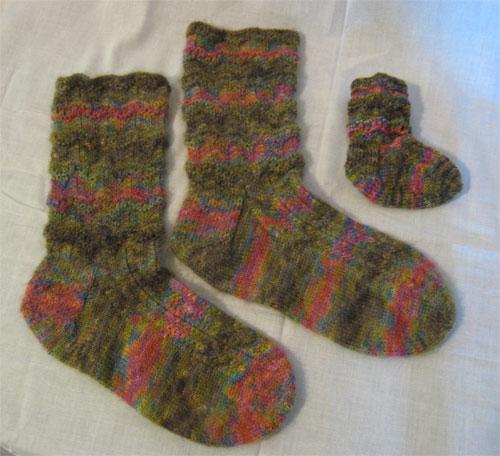 Sherwood Mother / Baby socks