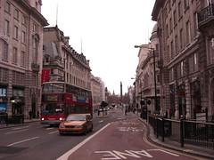 Utsikt nedover Regent street.