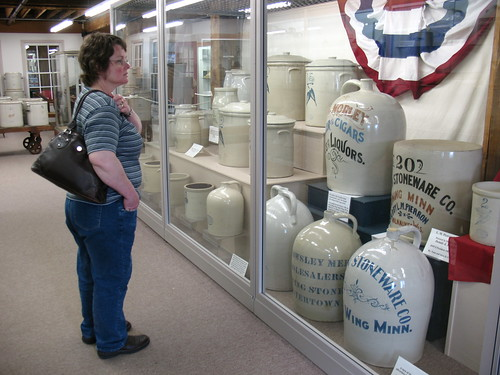Mom and Very Big Stoneware