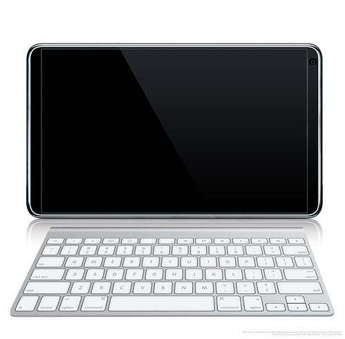 iPad Touch with Wireless Keyboard