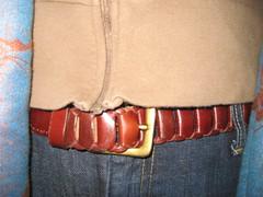 swap leather belt