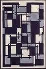 Theo van Doesburg. Composición X, 1918.
