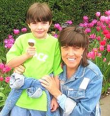 Connie & her son Jackson
