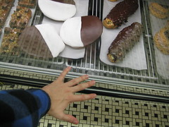 black and white cookies bigger than my hand