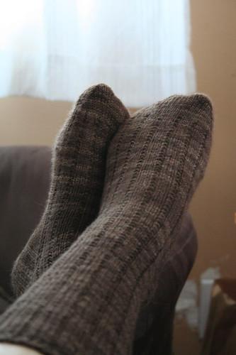 Another Pair of 3x1 Garter Rib Socks