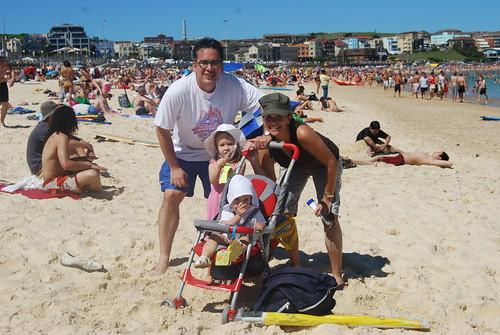 Sawin Family at Bondi Beach