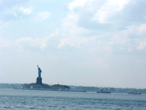 Statue Of Liberty, From Red Hook