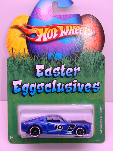 hot wheels easter '67 shelby gt500 (1)