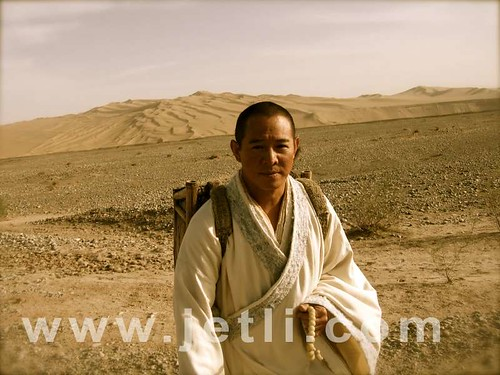 Jet Li in the Gobi desert
