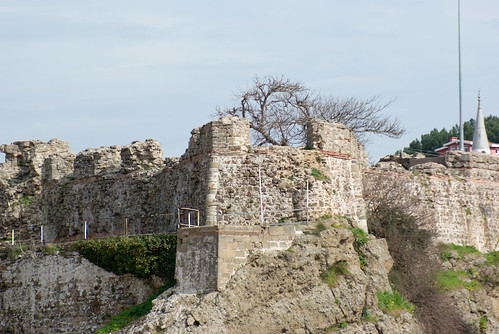 Riva castle, Riva village, Istanbul, pentax k10d