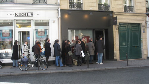 Pierre Herme Paris 2008: La cola para entrar