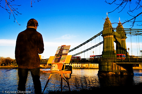 Hammersmith Bridge Painter (2)