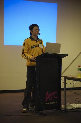 Rex Chung at Barcamp