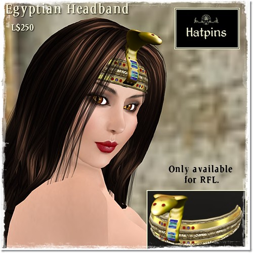 Accessory Fair 2011 - Hatpins - Serpent Headband