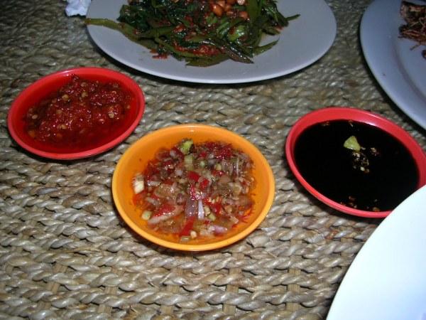 Ganesha, Jimbaran - sauces