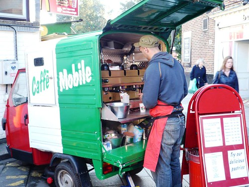 Caffee Mobile Highbury Islington