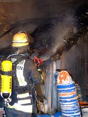 Scheunenbrand Bierstadt 01.01.08