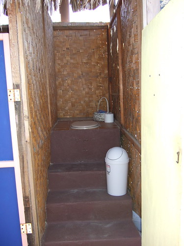 Composting toilet at El Santuario by terriem