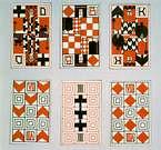 Ditha Moser, juego de naipes. 1905.