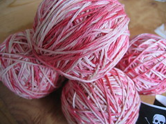 mutiny yarn in balls