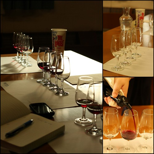 Pinot Noir Tasting at Lincoln 2nd June 2011