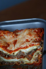 Loaf Pan Lasagna 1