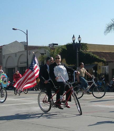 Dicks on bikes