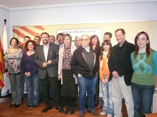 Candidatura de CHA al Congreso y Senado por Zaragoza